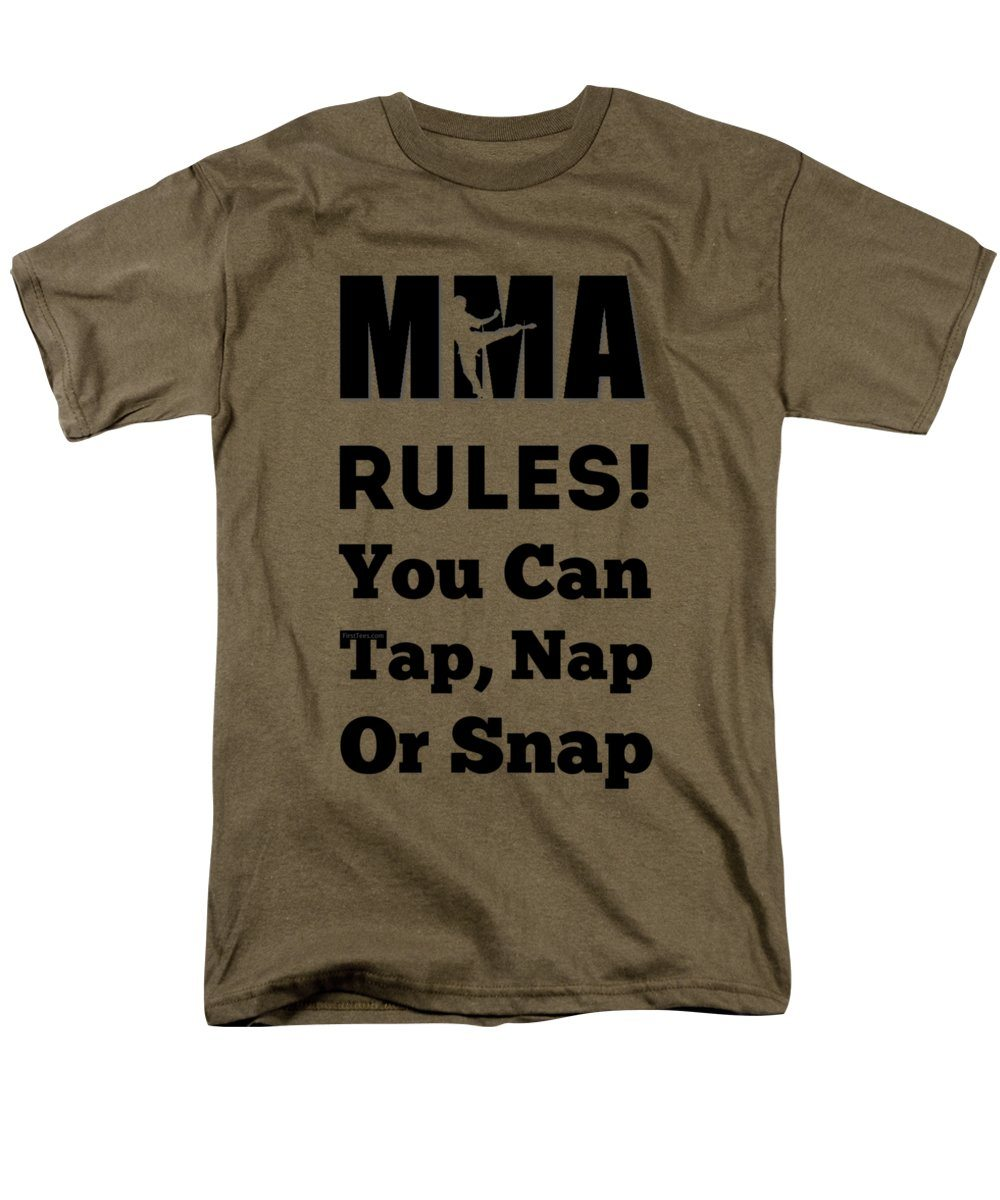 MMA RULES You Can Tap Nap Or Snap