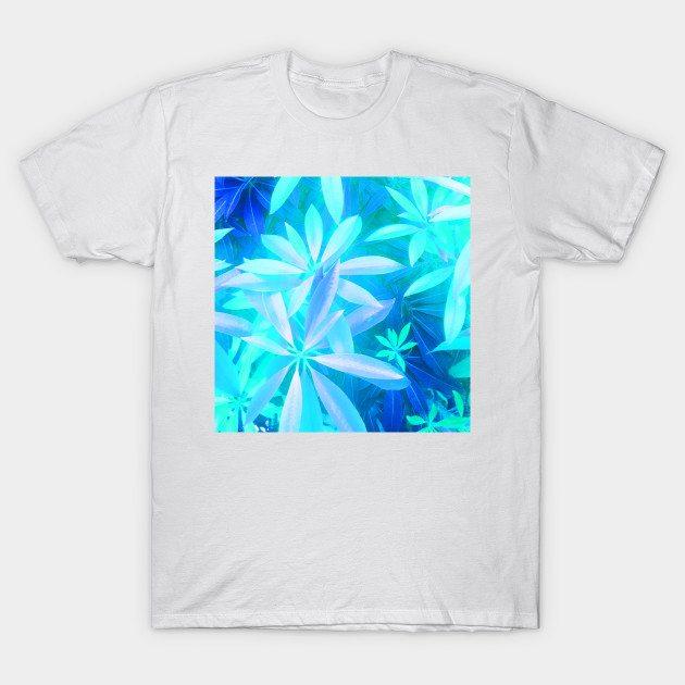 Neon tropical foliage T-Shirt