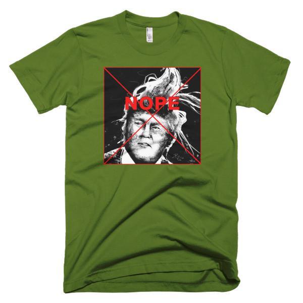 NOPE-Short sleeve men's t-shirt