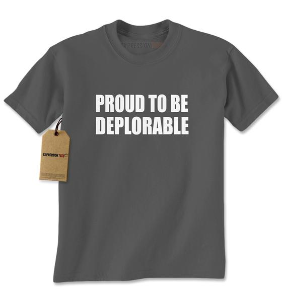 Proud To Be Deplorable Mens T-shirt