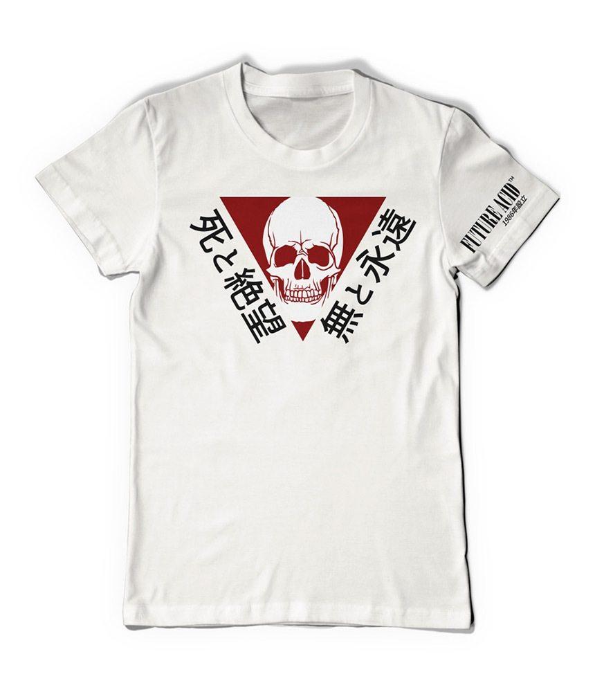 Reaper Warning T-Shirt (White)