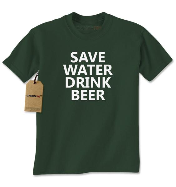 Save Water Drink Beer Mens T-shirt