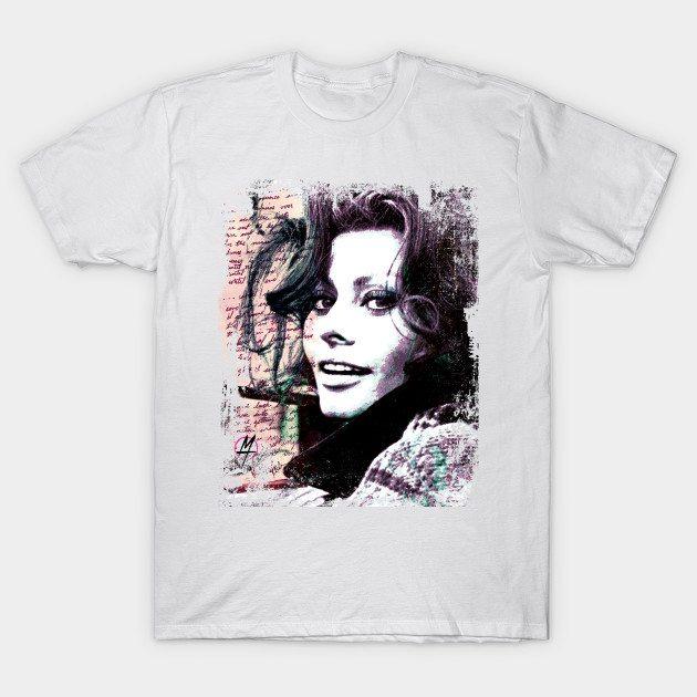 Sophia Loren Italian style T-Shirt