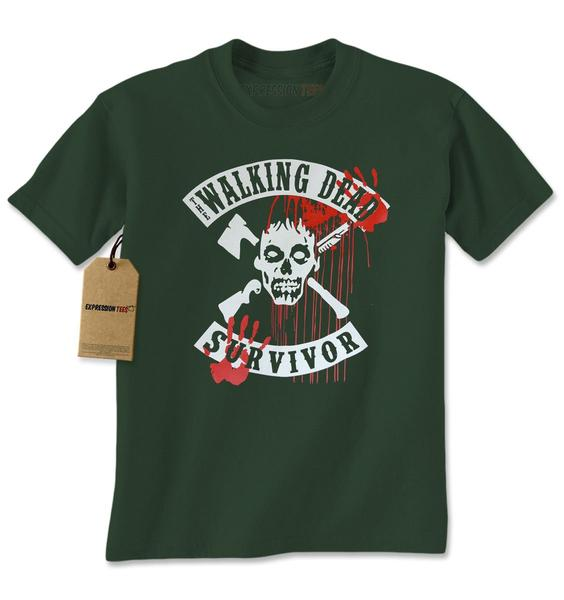 The Walking Dead Survivor Mens T-shirt
