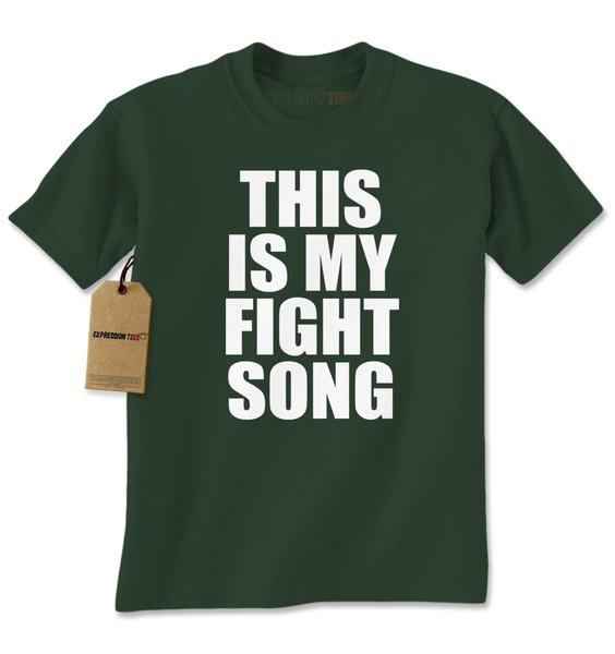 This Is My Fight Song Mens T-shirt