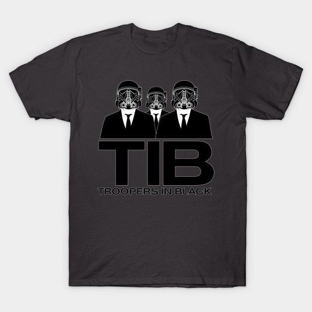 TIB Troopers In Black T-Shirt