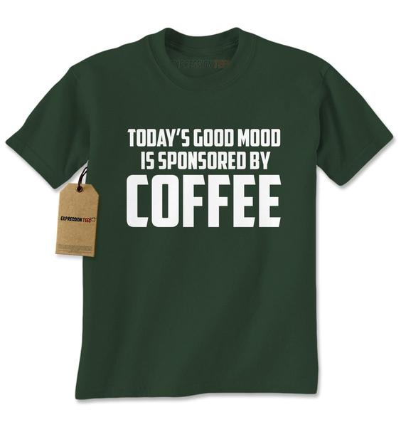 Today's Good Mood Is Sponsored By Coffee Mens T-shirt