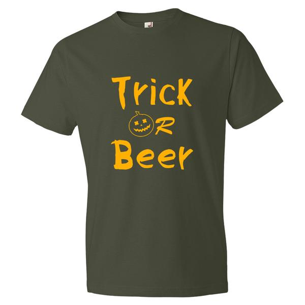 Trick or Beer Halloween T-Shirt