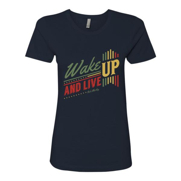 Wake Up And Live T Shirt