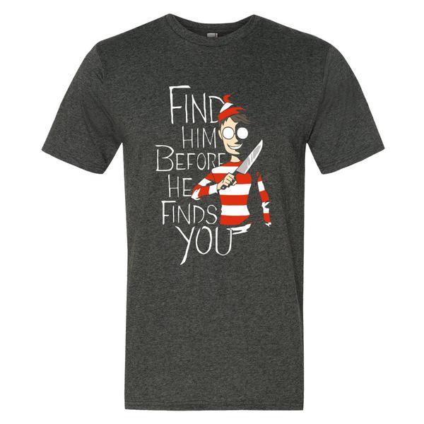 Where's Waldo Halloween T Shirt