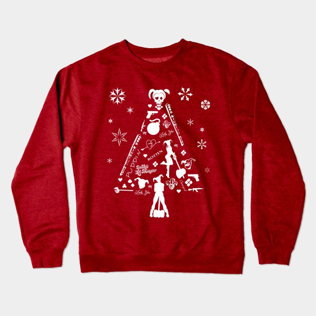 Xmas Tree Harley Quinn Christmas Jumper