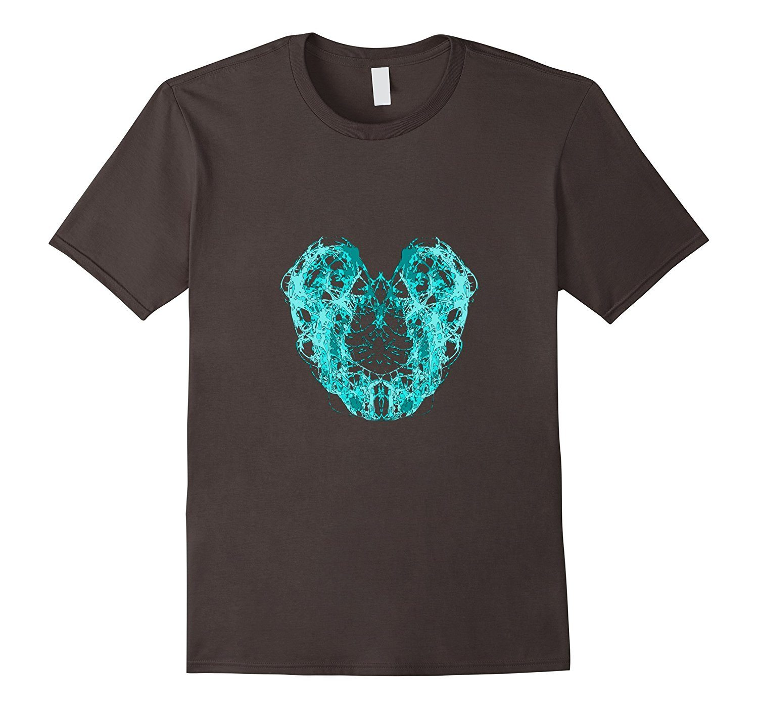 Abstract Frosted Heart Shape graphic