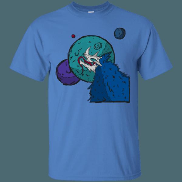 Alien Skull Wolf Men's T-Shirt