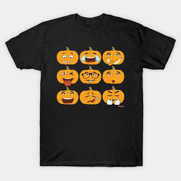 All Halloween Emojis T-Shirt