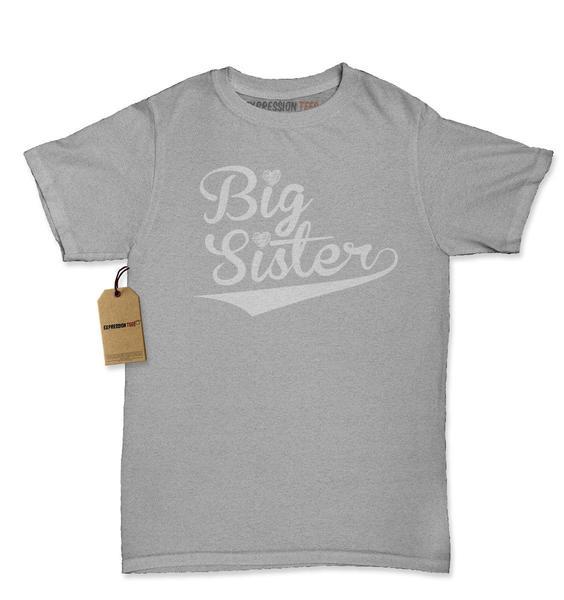 Big Sister Sibling Womens T-shirt