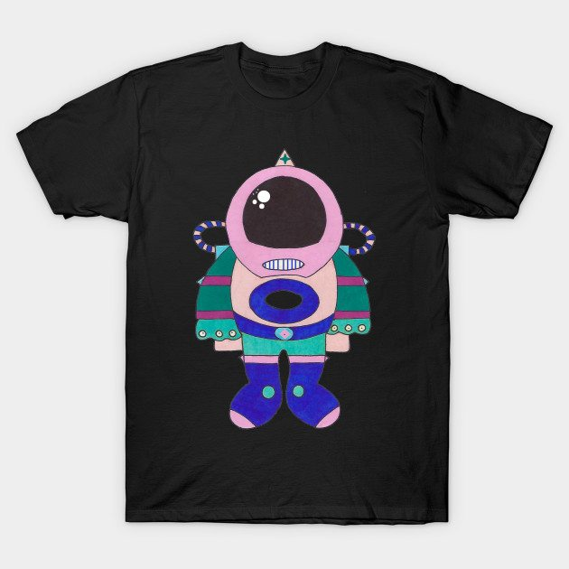 Cosmic Leisure Suit T-Shirt