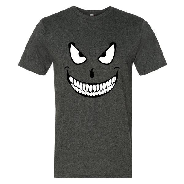 Crazy Face Halloween T Shirt