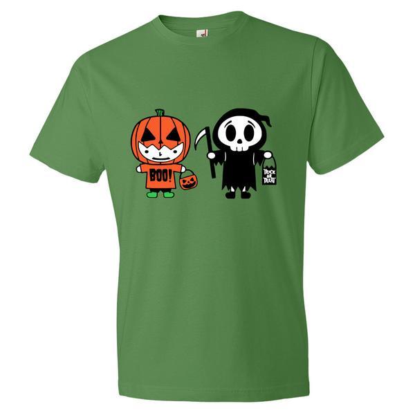 Crazy Twins Halloween T Shirt