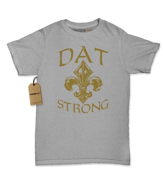 Dat Strong New Orleans Football Womens T-shirt