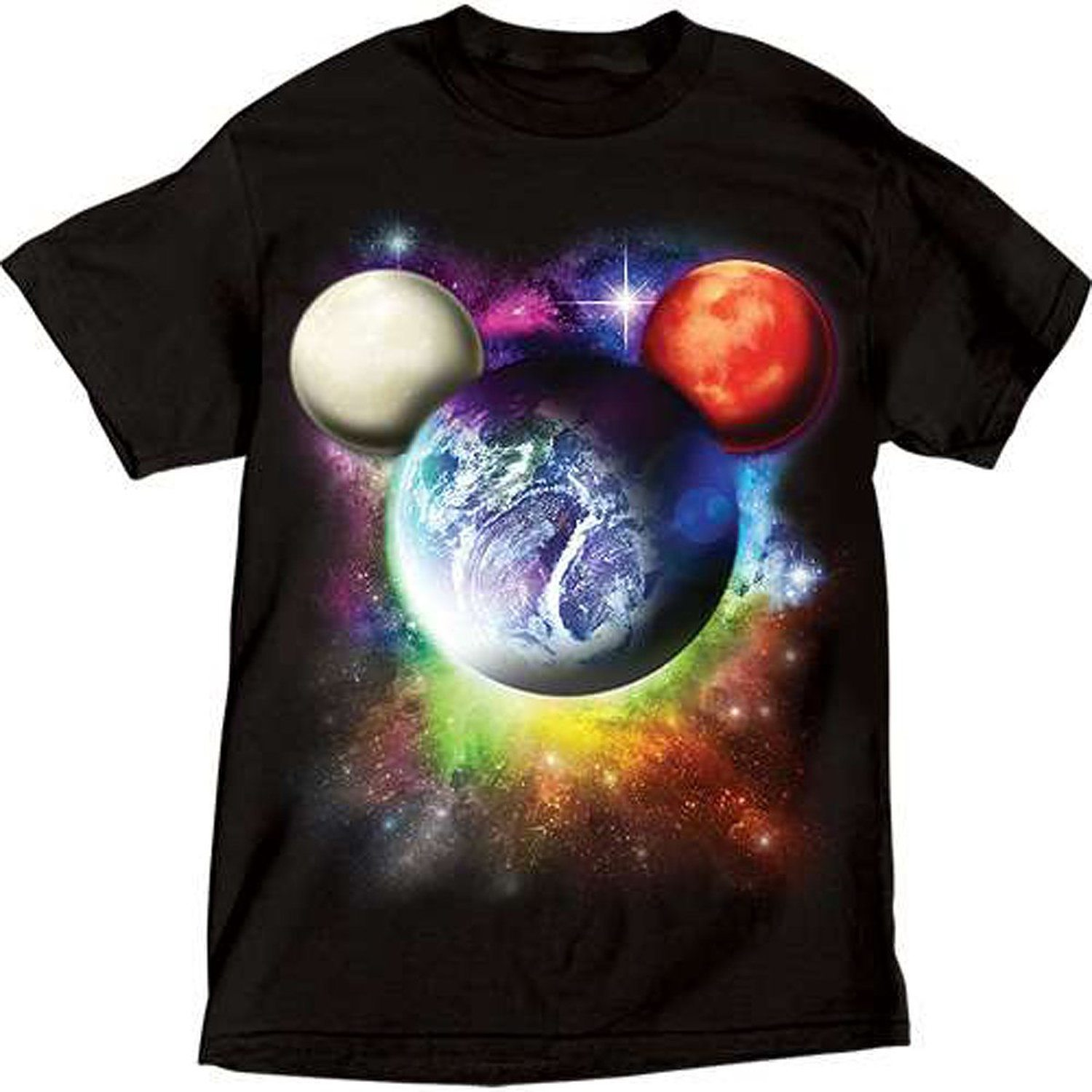 Disney Mens Planet Mickey Mouse