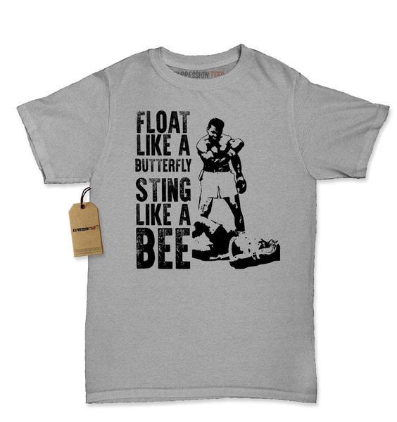 Float Like A ButterFly Muhammad Ali Tribute Womens T-shirt