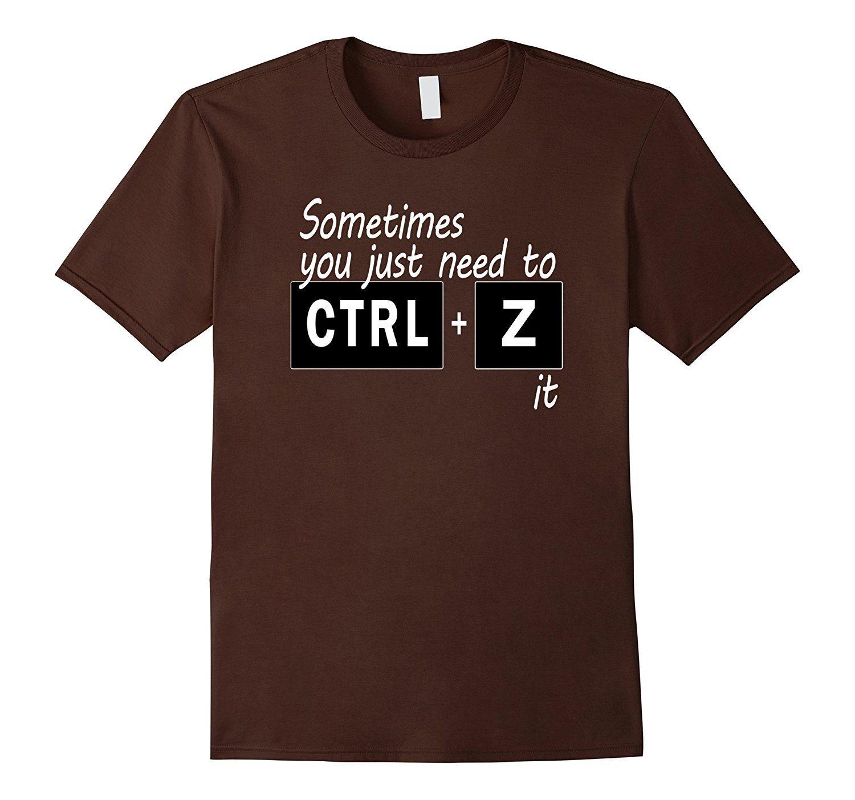 Funny Digital Art humor Cnt+ Z Shirt