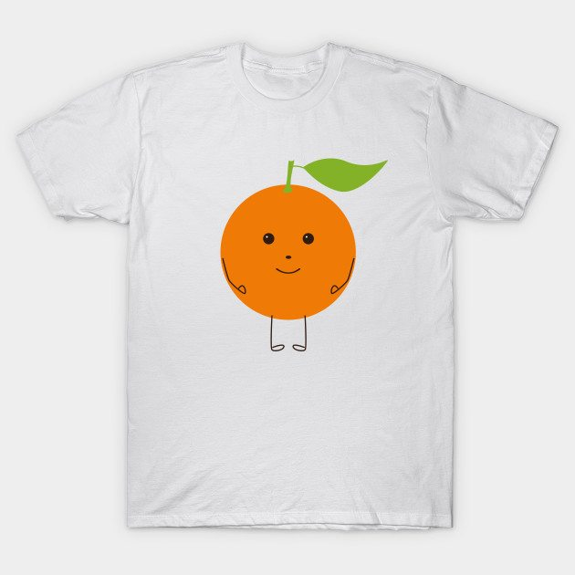 Funny orange T-Shirt