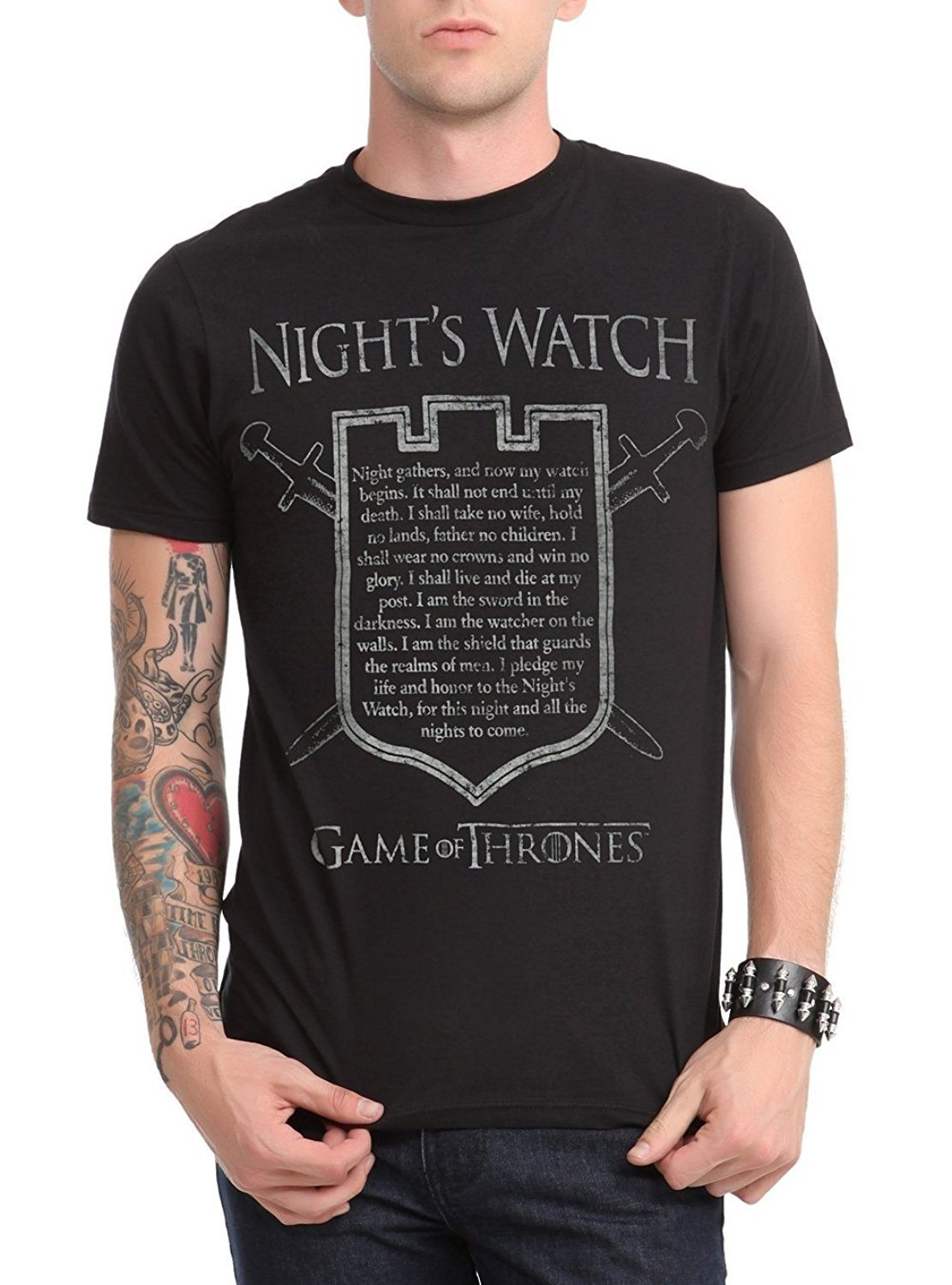 Game Of Thrones Night's Watch Oath