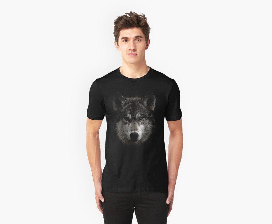 Halftone Wolf Animal
