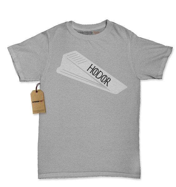 Hodor Door Stop Wedge GoT Womens T-shirt