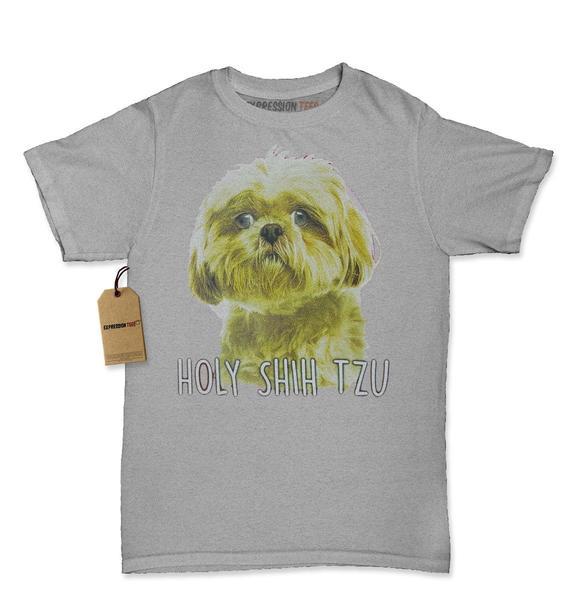 Holy Shih Tzu Funny Dog Lover Womens T-shirt