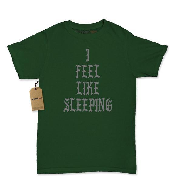 I Feel Like Sleeping Womens T-shirt