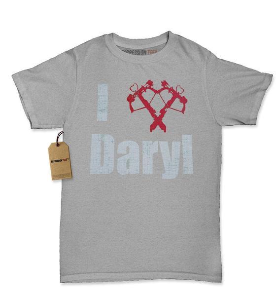 I Love Daryl (Crossbow)  Womens T-shirt