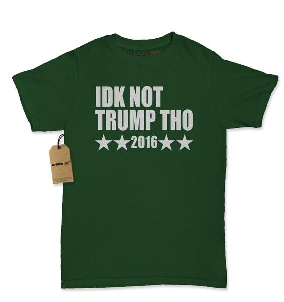 IDK Not Trump Tho Rock The Vote Womens T-shirt