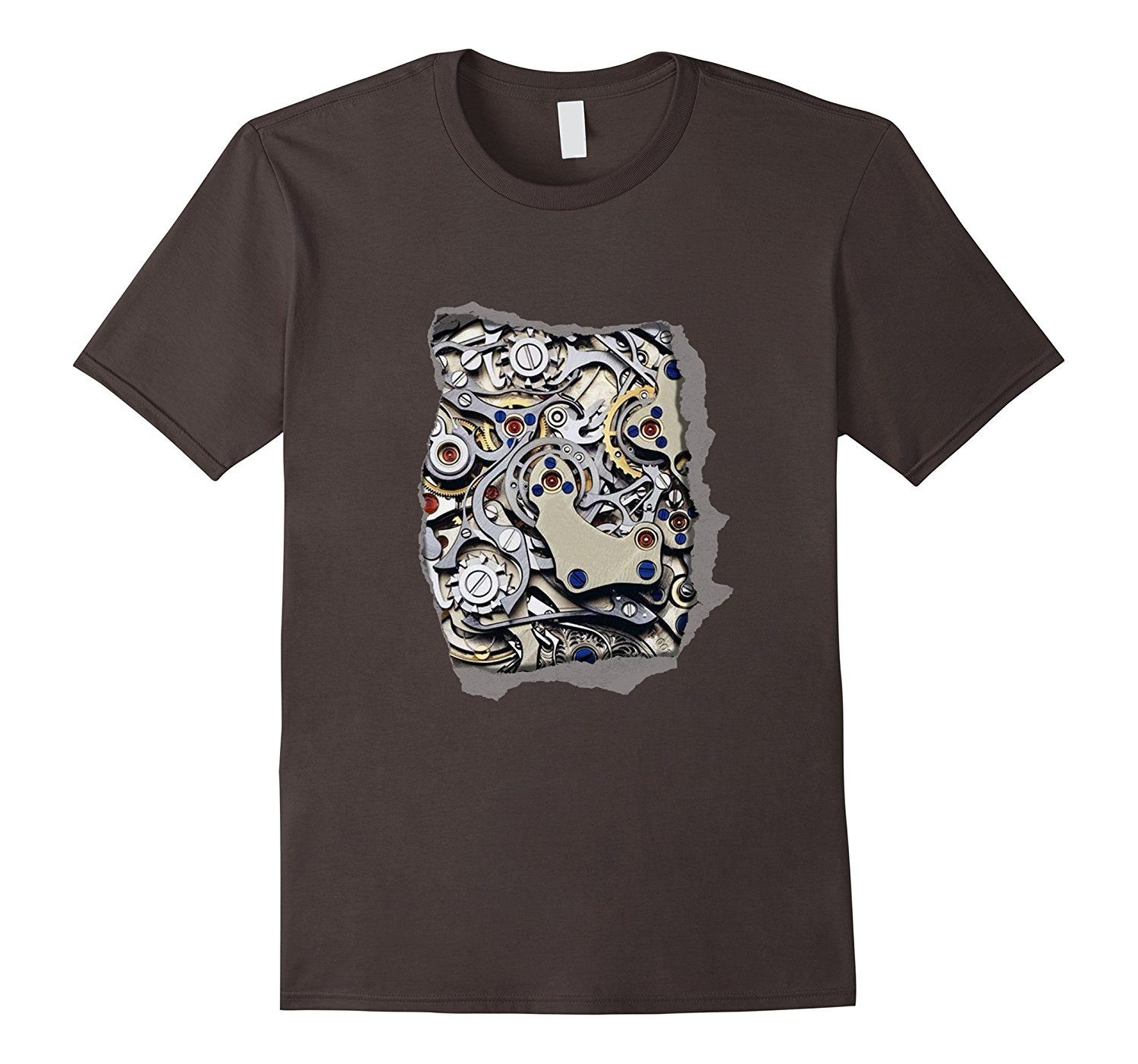 I'm mechanical & my shirt is torn, cool graphic