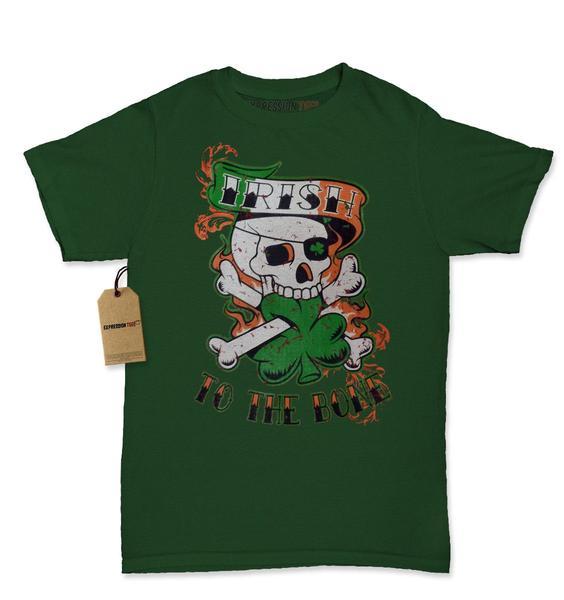 Irish To The Bone Womens T-shirt