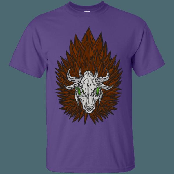 Lion Skull Mane Men's T-Shirt