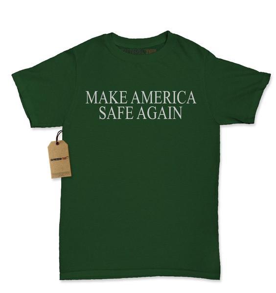 Make America Safe Again Womens T-shirt