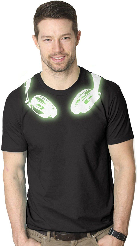 Mens Glow In the Dark Headphones