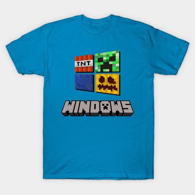 Minecraft Windows Ver. 1 T-Shirt