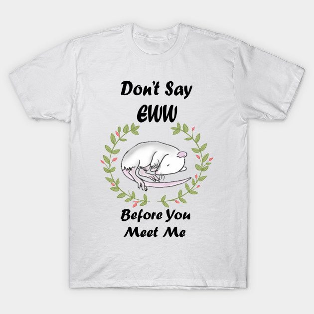 Pet Rat Cuteness T-Shirt