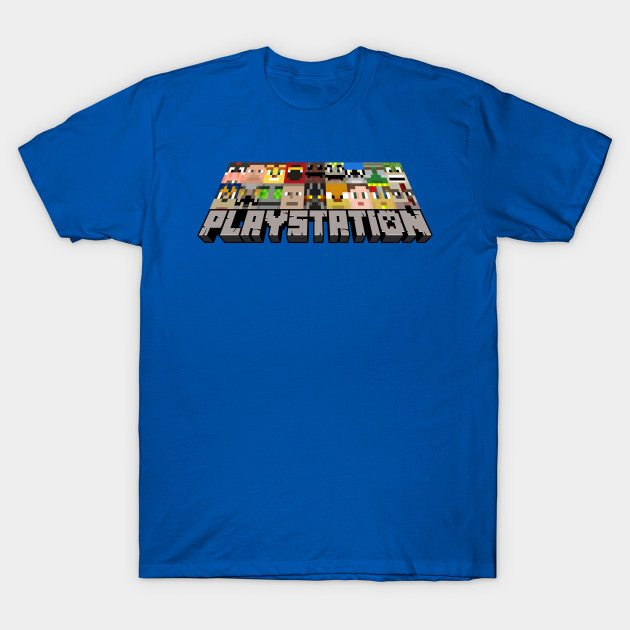 PlayStation Minecraft Style Ver. 1 T-Shirt