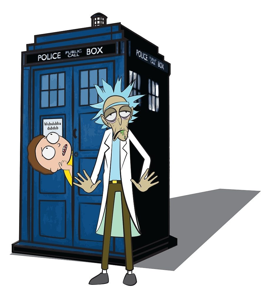 Rick and Morty –  Dr who