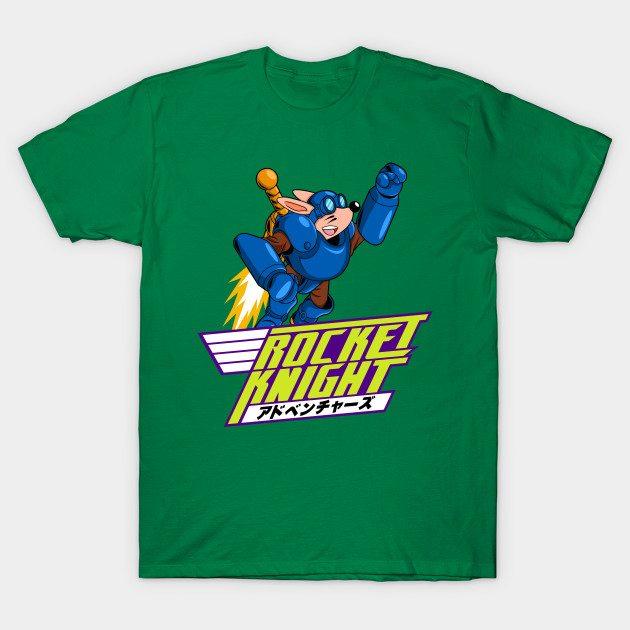 Rocket Knight's Laser Blast Ride T-Shirts