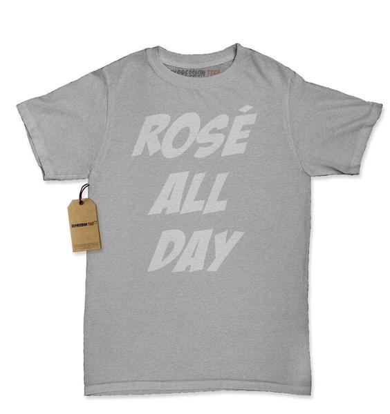 Rose' All Day Wine Tasting Womens T-shirt