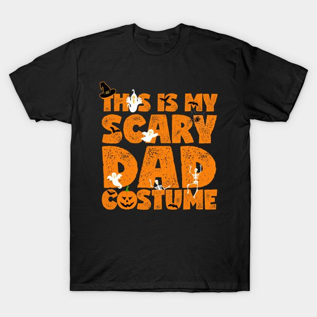 Scary Dad Costume T-Shirt
