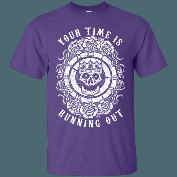 Skull Clock Men's T-Shirt