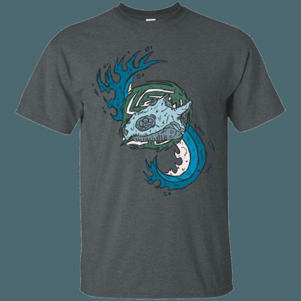 Snapping Turtle Skull Men's T-Shirt