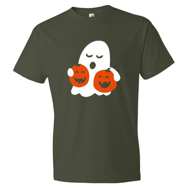 Spooky Ghost Halloween T Shirt