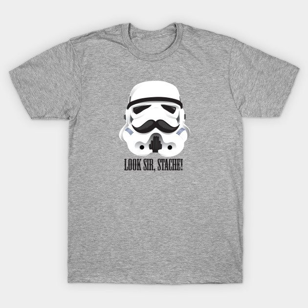 Stache Trooper T-Shirt